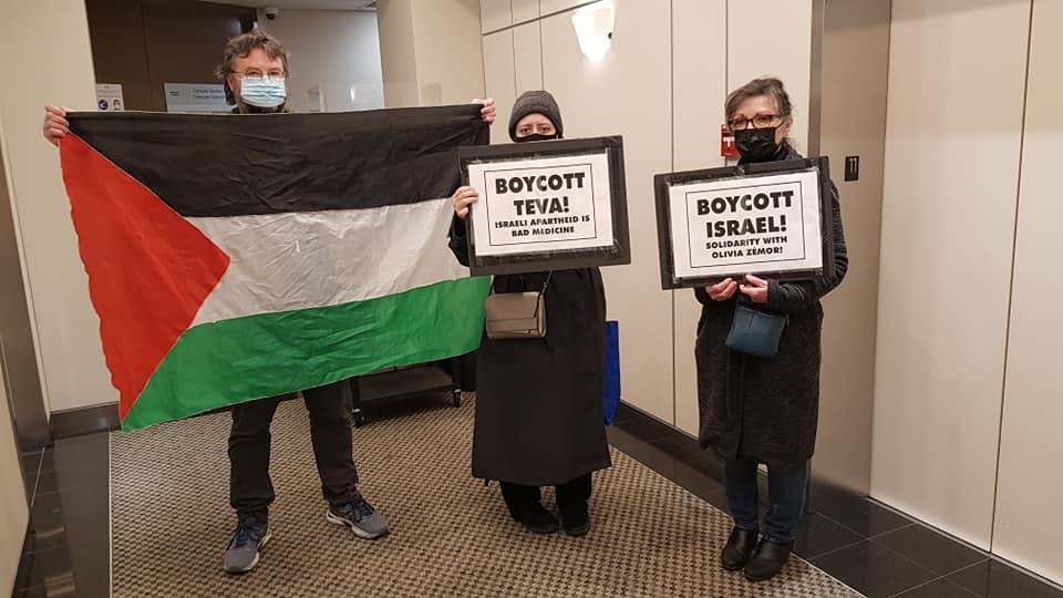 TEVA : le boycott est international. L'exemple de Vancouver au Canada (Photos)