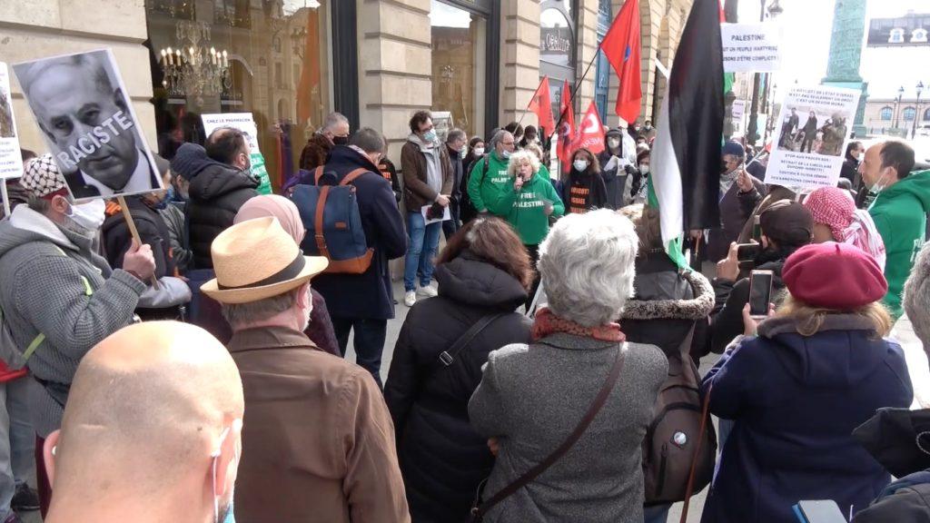 Vidéo du rassemblement parisien sous les fenêtres de Dupond-Moretti