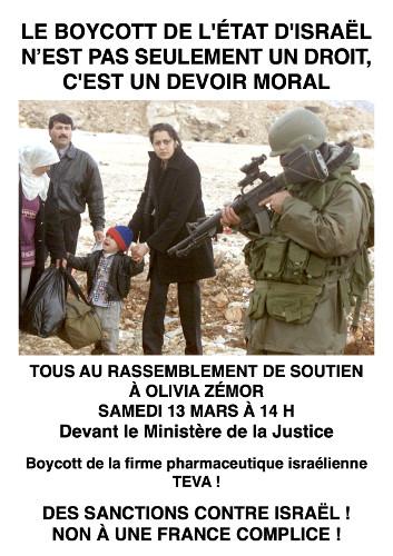 Procès Boycott Israël