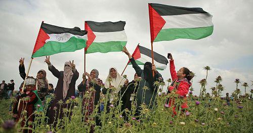 Rassemblement en soutien à la résistance du peuple palestinien à Jérusalem et Gaza en Palestine, vendredi 30 avril 2021, Place de la République, Paris, de 16h à 18h