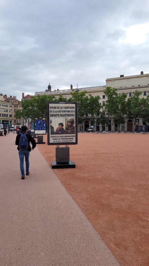 Exposition d'artistes à Lyon : sans oublier la Palestine !