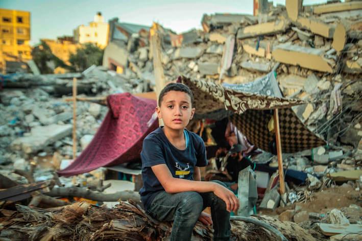 Un enfant de Gaza nous chante sa situation (Vidéo)