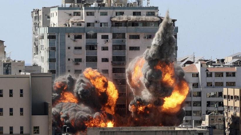Gaza en flammes !