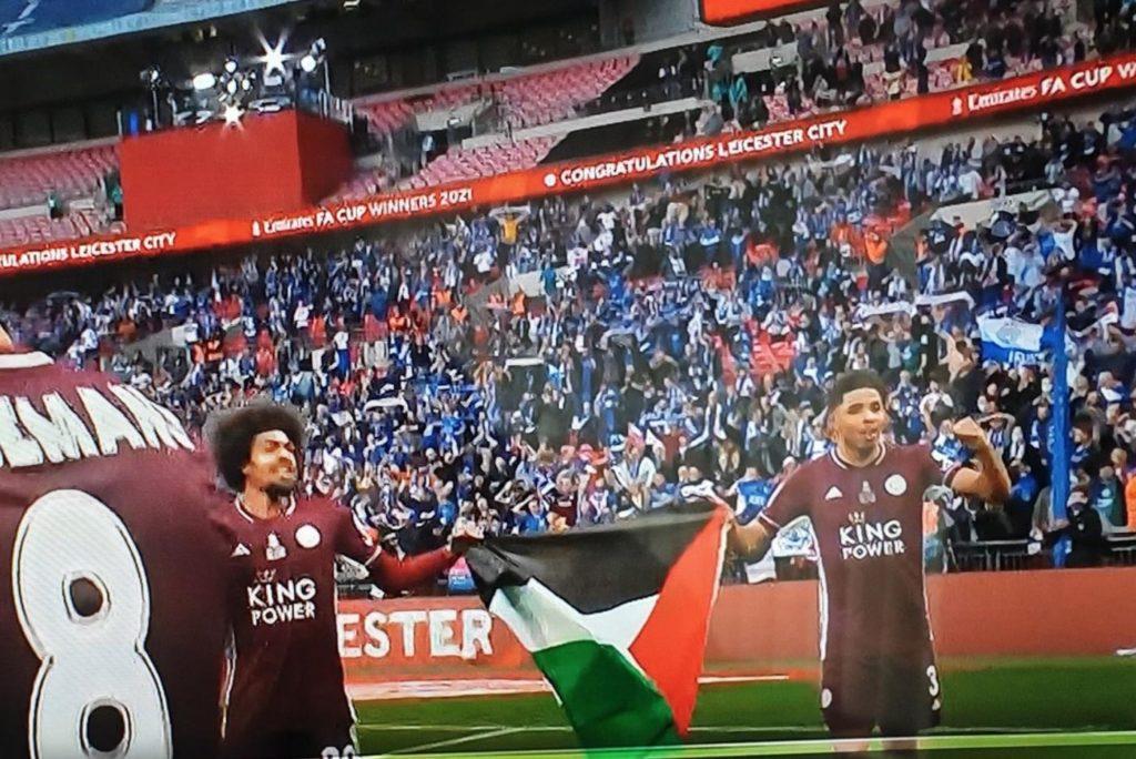 Football : la Palestine gagne la coupe d'Angleterre !  (photo)