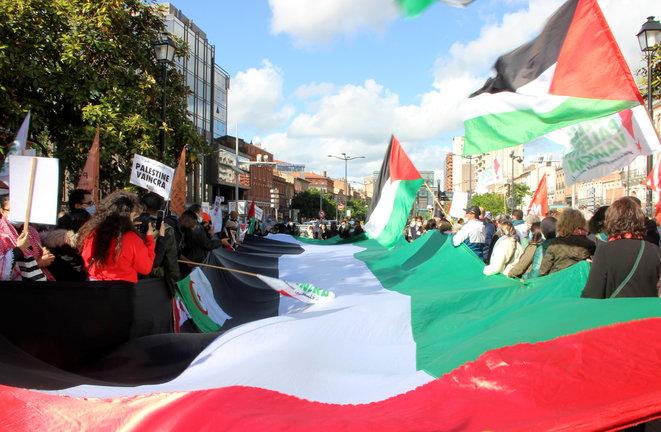 Toulouse : des centaines dans la rue pour soutenir la résistance palestinienne