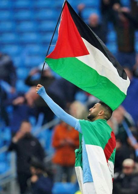 Premier League: Mahrez apporte son soutien aux Palestiniens