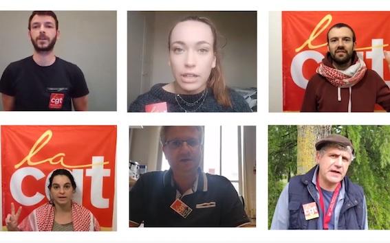 Des syndicalistes CGT de la Haute-Garonne appellent au boycott du syndicat israélien Histadrout (Vidéo)