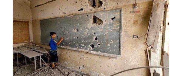 Regardez ce qu'ils ont fait des écoles à Gaza (Vidéo)