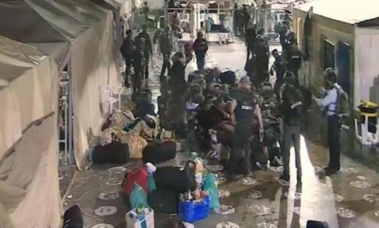Terrible agression de 55 détenus palestiniens dans la prison du Neguev (Vidéo)