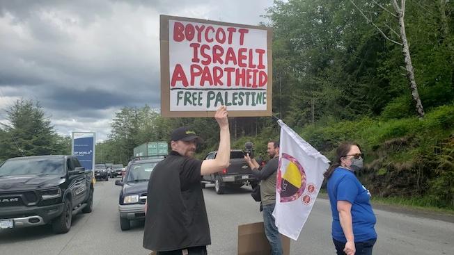 Encore un bateau israélien bloqué au Canada
