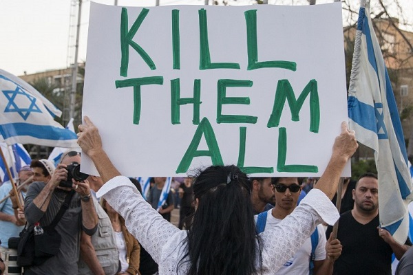 Jérusalem : Répression de manifestations pacifiques palestiniennes et autorisation des défilés  racistes et violents (Vidéo)