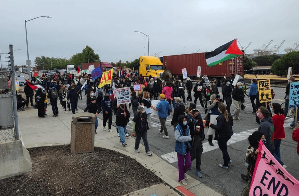 Grande victoire BDS aux USA: Le cargo israélien ZIM bloqué à Oakland (USA)