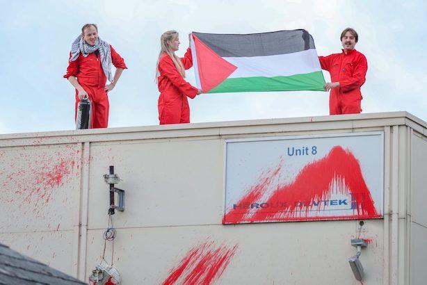 Angleterre : nouvelle action spectaculaire contre les drones israéliens