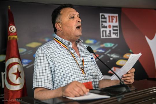 La Fédération Internationale des Journalistes exige la réintégration à l'AFP de Nasser Abu Bakr