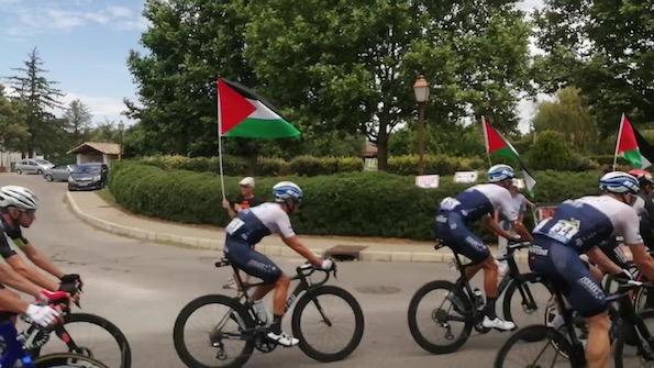 La Palestine sur la route du Tour de France (Photos)