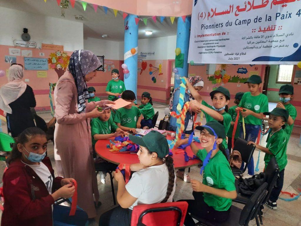 Camp de vacances pour 50 enfants de Gaza, grâce à vos dons (Photos et vidéo)