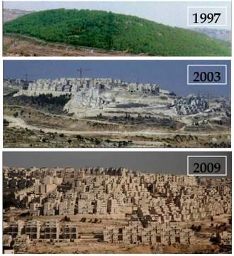 Les colonies israéliennes : un crime de guerre, rappelle l'ONU