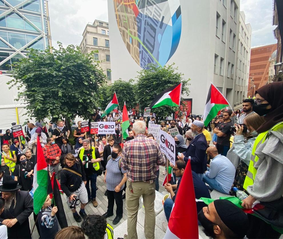 Grand succès de la semaine d'action pour la Palestine en Grande-Bretagne !
