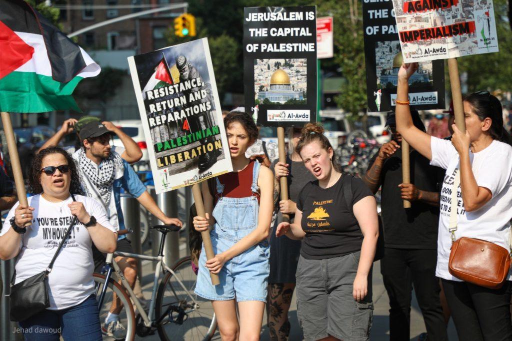 USA : les mobilisations se multiplient contre la colonisation israélienne