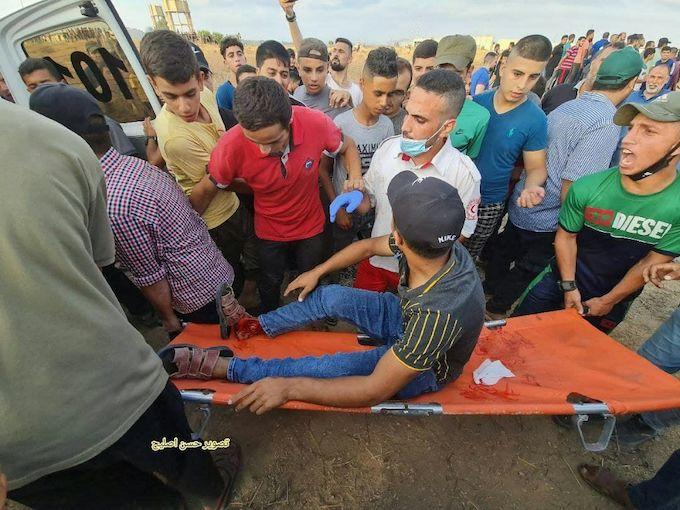 Gaza : Israël tire sur les manifestants en blessant 23.