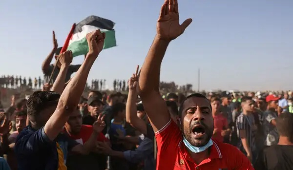 La jeunesse de Gaza continue à manifester contre le blocus