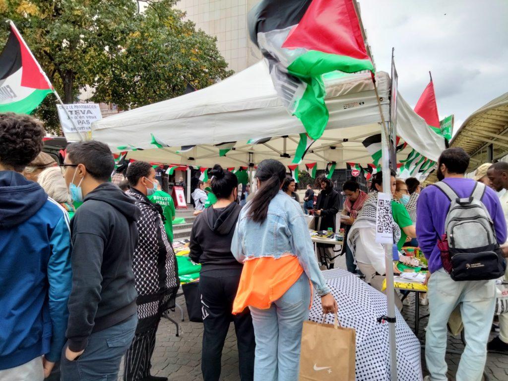 Mobilisation contre le camp de concentration de Gaza à Paris (Album photos)