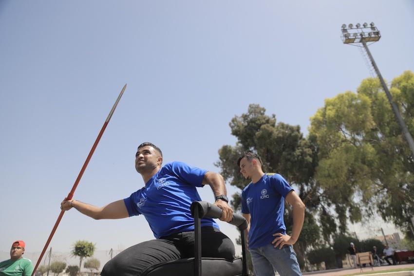 Premier championnat d'athlétisme pour les amputés de Gaza