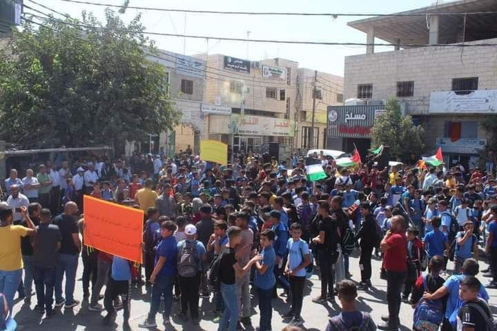 Mobilisation dans toute la Palestine en soutien aux prisonniers palestiniens