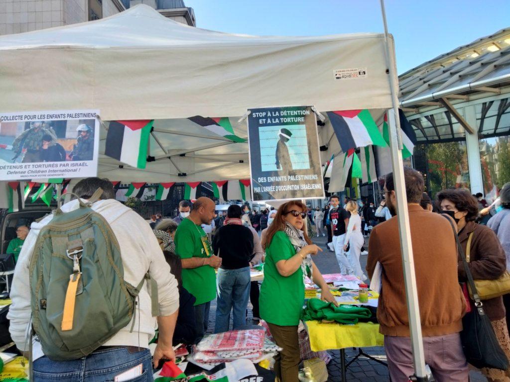 Paris : Très beau rassemblement en soutien aux prisonniers palestiniens (Album photos)