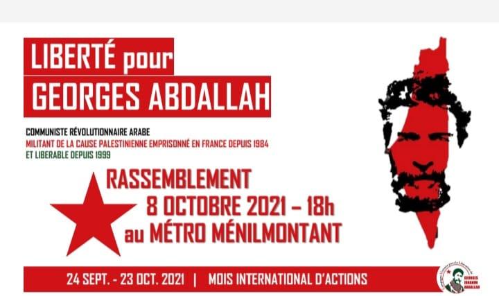 Nouveaux rendez-vous pour la libération de Georges Abdallah